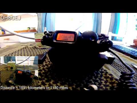 Chameleon F-Loop Kitchen QSO QRP - OH8GEJ - PI4CC