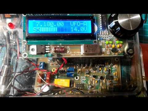 Testing a QRP 40 meters SSB transceiver, by SV1CWR