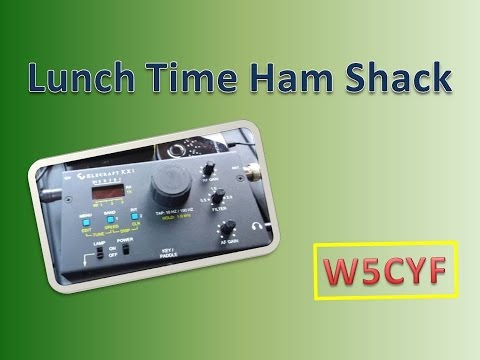 Lunch Time Ham Shack-Portable QRP