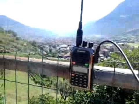 70 cm - UHF SOTA contact in Aosta Valley (Italy)