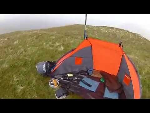 QRP amateur radio on Hen Comb in the Lake District
