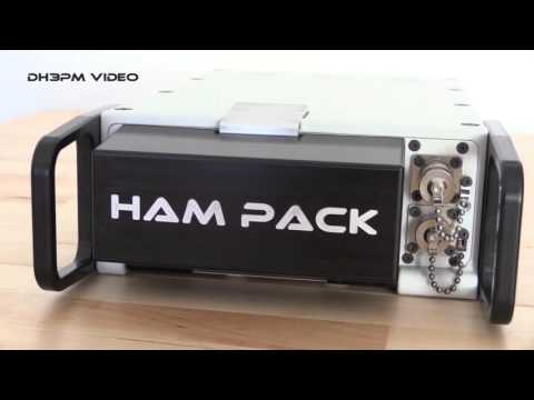 inside Hampack #1 Manpack Transceiver for YAESU FT-817