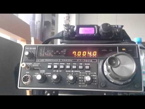 Yaesu FT-707s vs FT-817nd 40m (part 1)