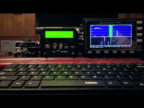 SX3 - Mouse-n-Click QSY with an Elecraft PX3 and KX3 / Proof of Concept