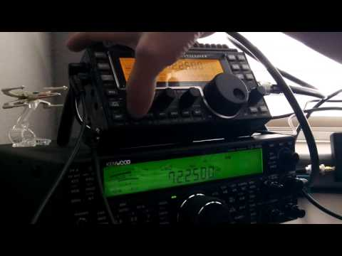 Kenwood TS590SG & Elecraft KX3 on a Chameleon EMCOMM II Antenna