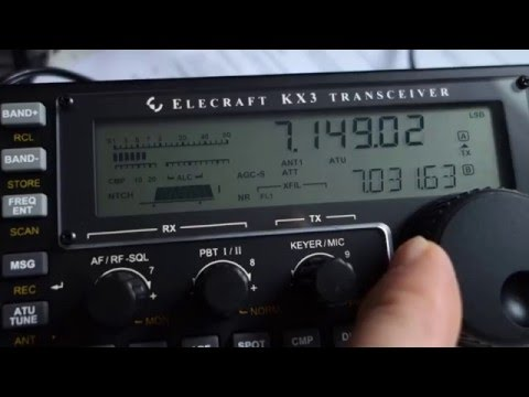 Elecraft KX3 - first time