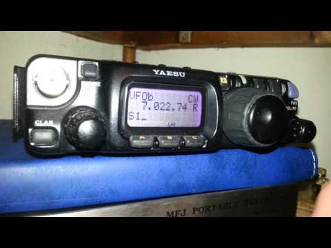 500hz CW Filter install in Yaesu FT817ND