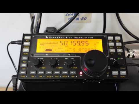 Waters & Stanton KX3 demo - Working Spain from UK on 50MHz