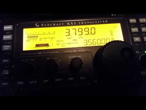 RX on elecraft kx3 sm3m calling DX
