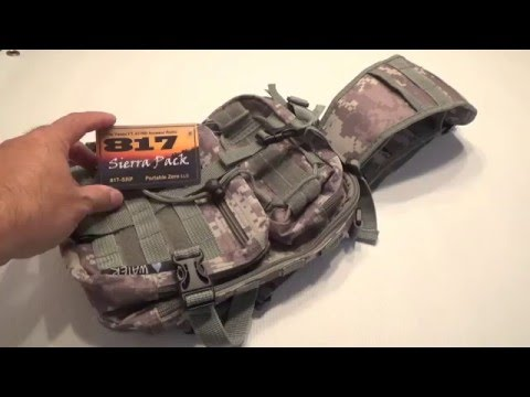 Introducing The Portable Zero 817 Sierra Pack 3-28-2016