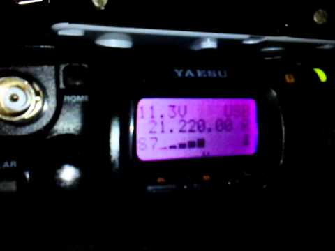E44YL reception with FT-817ND |HG8-654