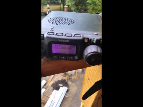 Yaesu ft-817 on uhf 432.100 USB 5 watts!