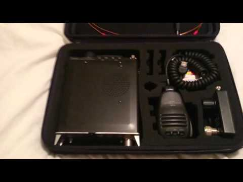 Brilliant case for yaesu ft-817 wonderloop hf setup