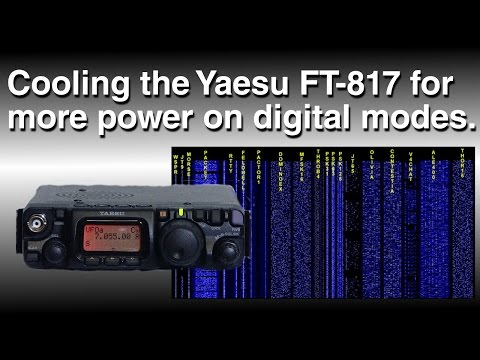 Cooling the Yaesu FT-817 for digital modes
