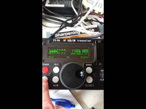Comparison of FX-9a and FT-817 in cw with filters