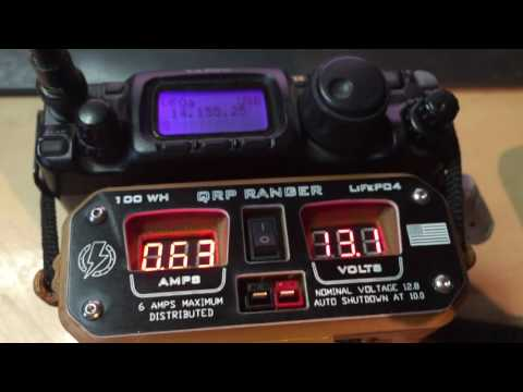 #2 - Hardened Power QRP Ranger and Yaesu Ft 817 and Small Antenna - Contest 06.08.2016