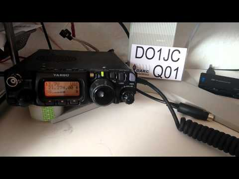 N4UU in Florida worked with 5W and my FT-817 and a short vertical