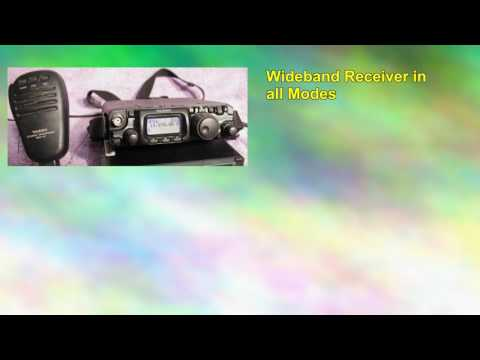 Yaesu Ft817nd Portable All Band, All Mode Qrp