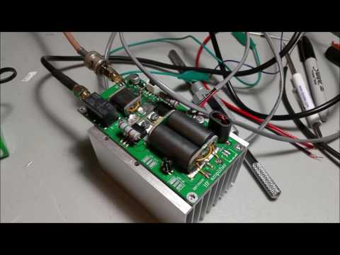 Testing the Minipa70 HF Amplifier Kit