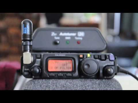 FT-817ND QRP QSO on 40m and 2.7khz Murata filter