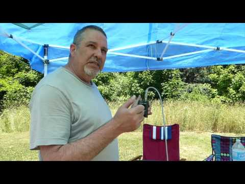 Field Day 2016 - Yaesu FT-817 QRP HF Portable