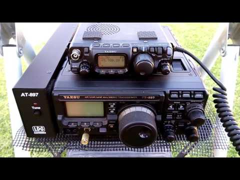 VHF tests between the FT-817ND and the FT-897d