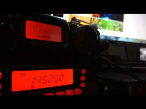 Yaesu FT 817- listen to Qso on 40m band,antenna DELTA LOOP 83m long