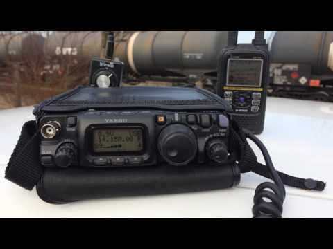 SP1B QRP FT-817 Yaesu Miracle Antenna hamradio