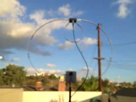 Yaesu 817 with Alpha Loop Antenna QRP