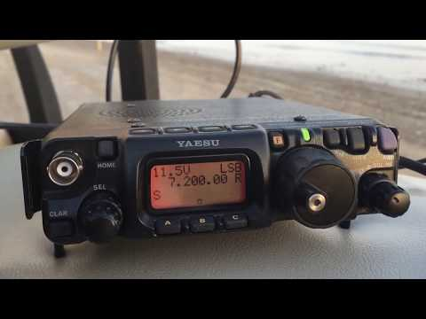 FT-817 on 40 meter band