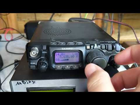 FT-817nd receiving