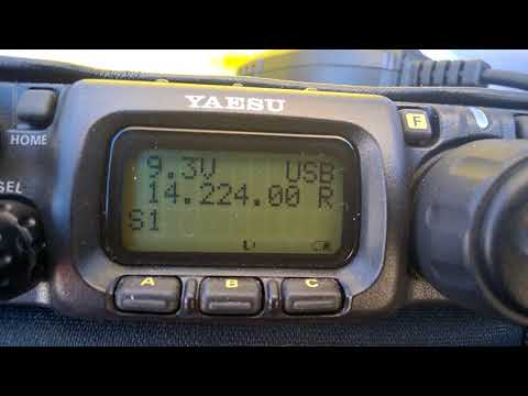 Yaesu FT-817ND Receiving JAPAN on the Beach #2