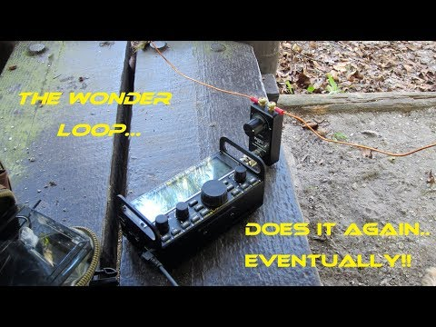 QRP PORTABLE: WONDERLOOP MADE FOR 817ND!