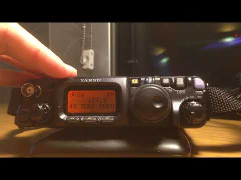 Yaesu FT-817 memory programing without cable